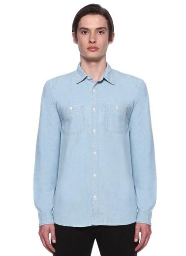 Carhartt Uzun Kollu Gömlek Mavi